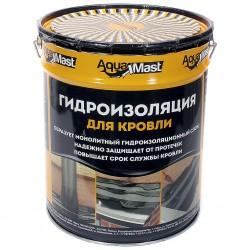 Гидроизоляция для кровли битумно-резиновая AquaMast 18 кг