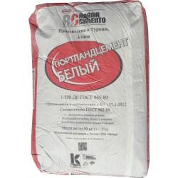 Цемент белый по 25 кг