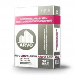 Цементно-песчаная смесь М150 ARVO Econom (универсальная) 25 кг