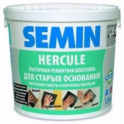 Шпаклевка ремонтная реставрационная Semin Hercule 15 кг