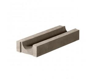 Лоток водоотводный бетонный ЛВ 245х345х80 мм
