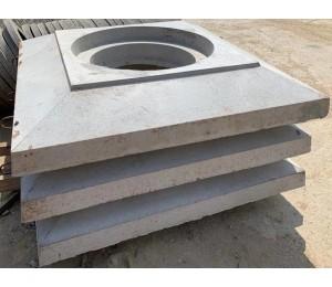 Плита опорная ПО-1 с двумя отверстиями d 700