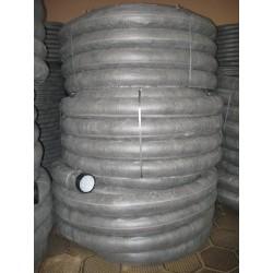 Труба дренажная однослойная N ПНД d63 с перфорацией, в фильтре (50м)
