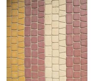 Плитка Антика 5 крипичей цветная 60 мм