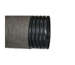 Труба дренажная однослойная N ПНД d200 с перфорацией, в фильтре (40м)
