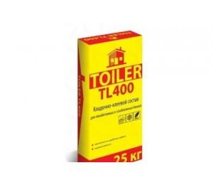 Клей для газобетонных блоков TOILER TL400 25 кг