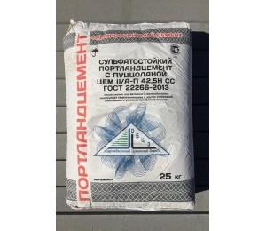 Цемент сульфатостойкий Цем II/А-П 42,5 СС по 25 кг